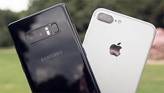 Galaxy Note 8 vs iPhone 7 Plus: Portrait mode vs Live Focus camera comparison