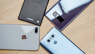 Camera comparison with the iPhone 8 Plus, Galaxy Note 8, LG G6, Xperia XZ1