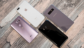 LG V30 vs iPhone 8 Plus, Galaxy Note 8, HTC U11: Camera comparison