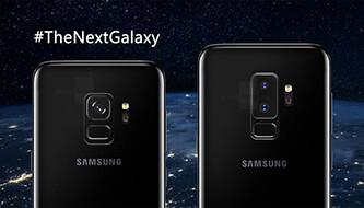 Galaxy S9 and S9 Plus preliminary size comparison!