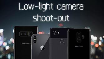 Galaxy S9+ vs iPhone X vs Pixel 2 XL vs Note 8: Low-light camera shoot-out