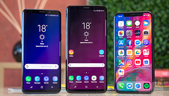 The deathmatch: Samsung Galaxy S9 and S9+ vs Apple iPhone X