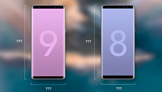Is the Galaxy Note 9 shaping up to be much larger than the Note 8?