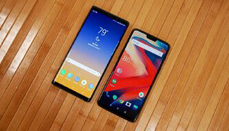 Galaxy Note 9 vs OnePlus 6: First look