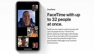 Group FaceTime calls won't arrive alongside iOS 12