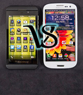 BlackBerry Z10 vs Galaxy S III