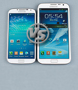 Galaxy S4 vs Galaxy Note II