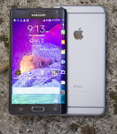 Galaxy Note Edge vs iPhone 6 Plus