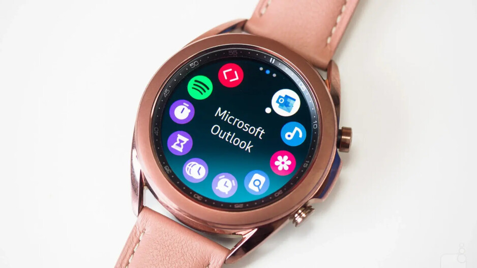 The Galaxy Watch 4 will run a new OS, a combination between WearOS and Tizen, instead of Tizen on the Watch 3 here