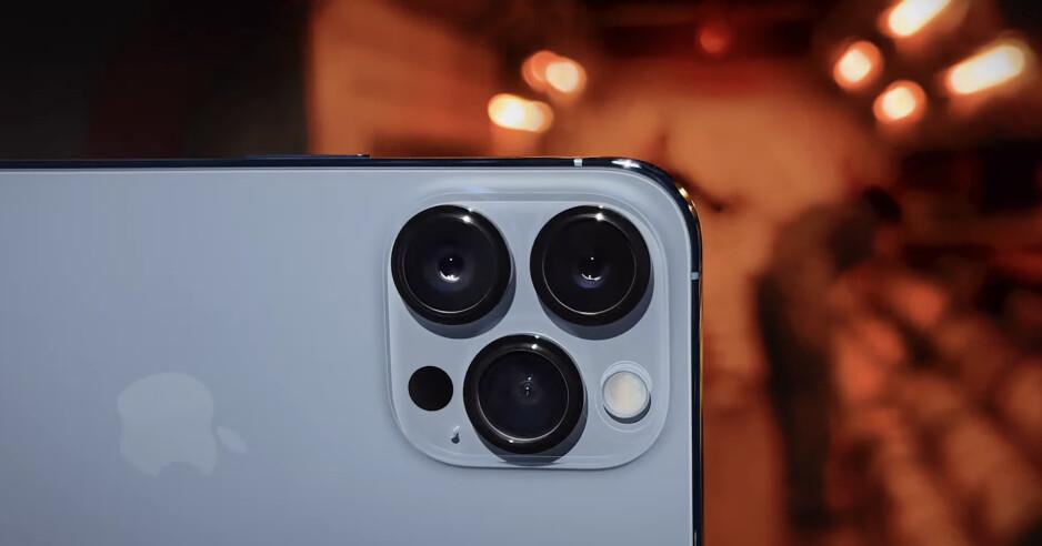 The iPhone 13 Pro camera module