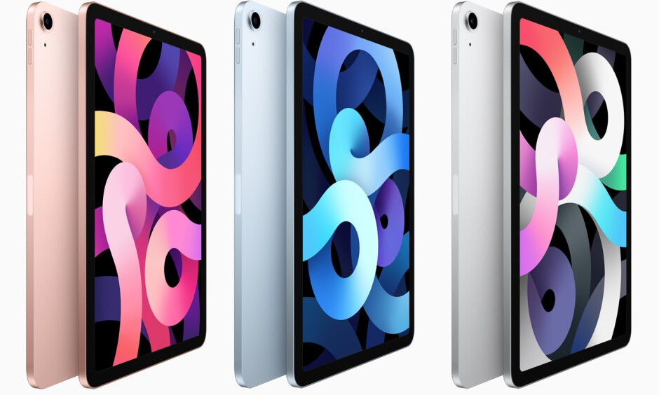 The rumors were correct! The new iPad Air 4 will sport a modern design and fresh new colors.