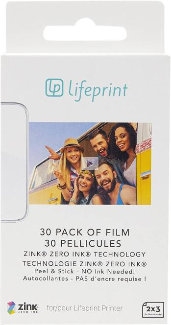 30+ Film Packs for the Lifeprint Hyperphoto mini printer