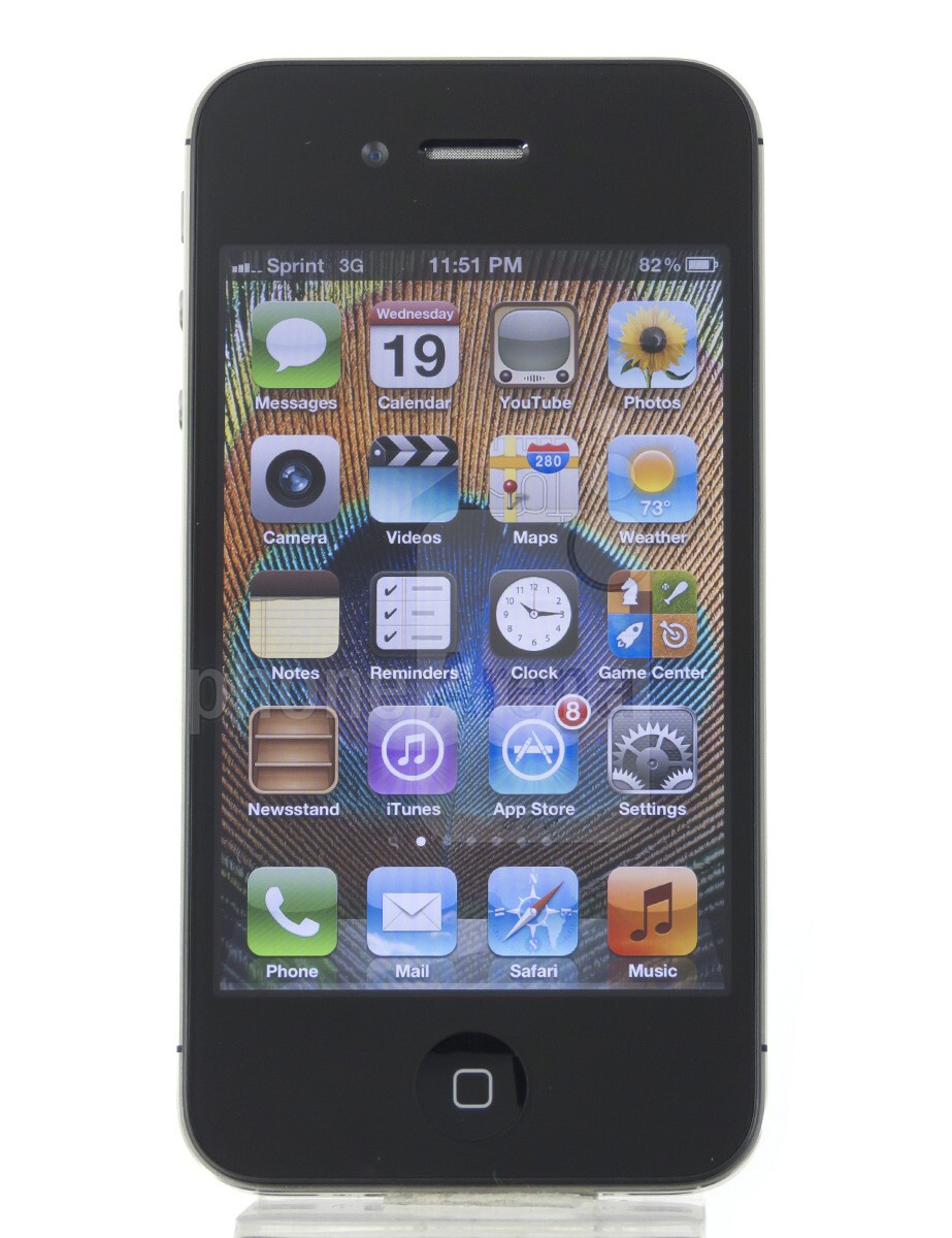 reputable site 44053 352a8 Apple iPhone 4s 360-Degrees View - PhoneArena