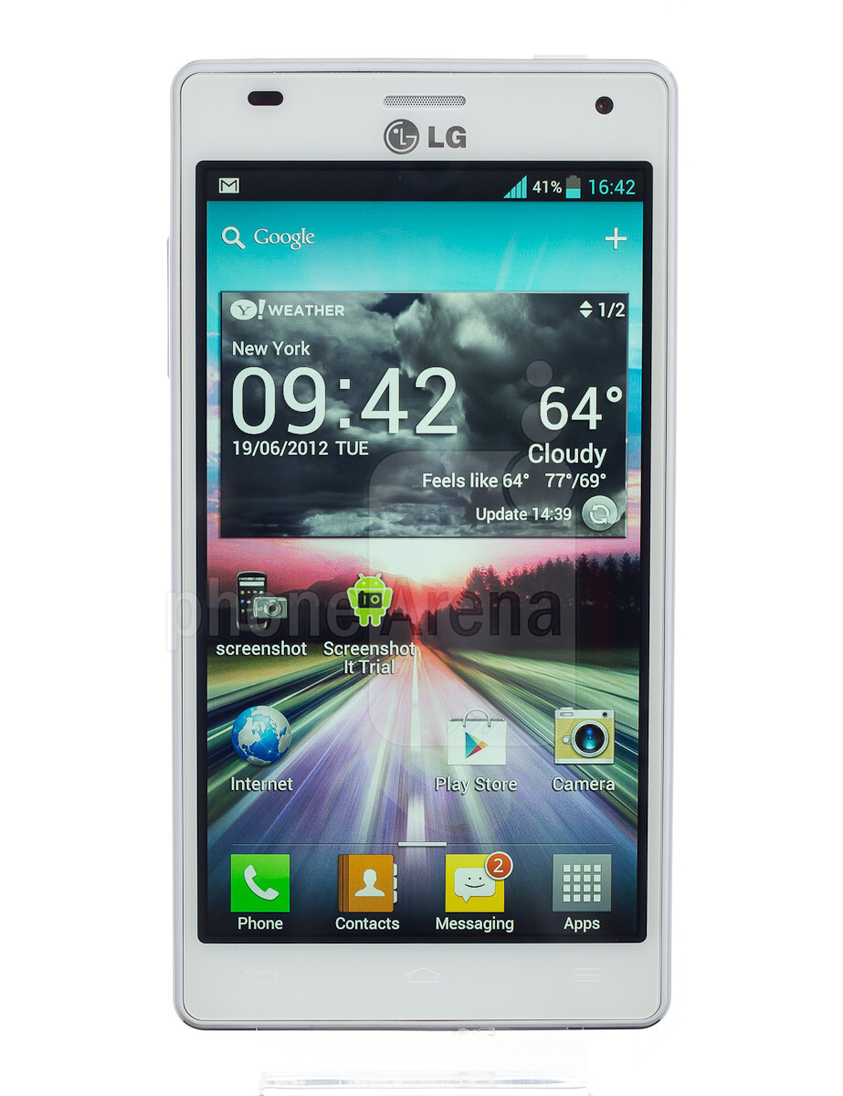 LG Optimus 4X HD 360-Degrees View - PhoneArena