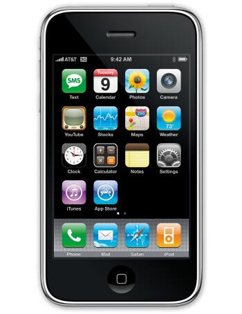 Apple iPhone 3G specs