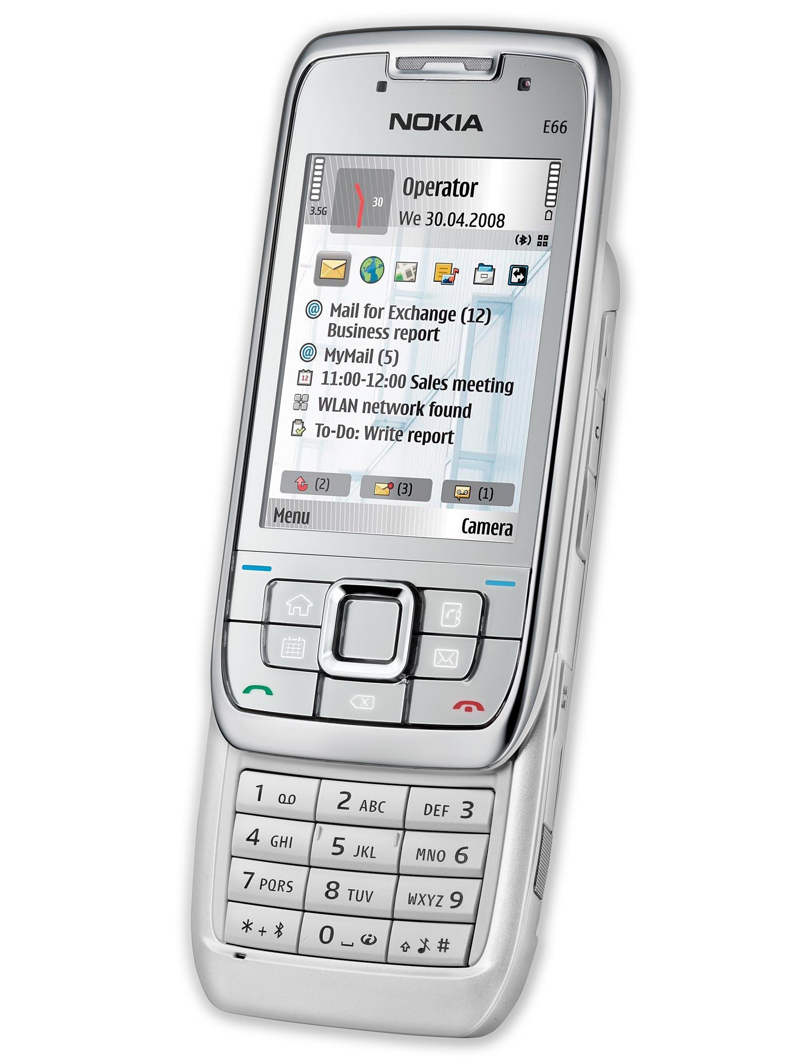 Nokia E66 specs