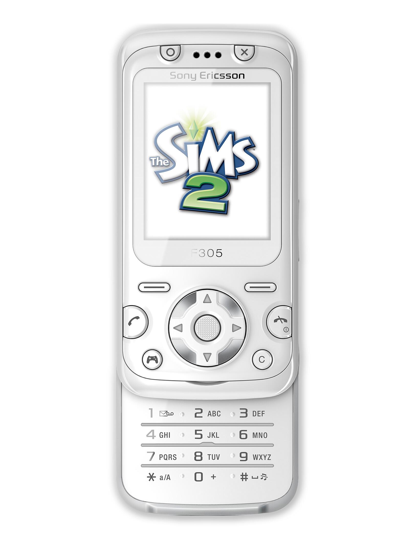 Sony Ericsson F305 specs