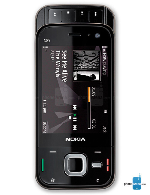 Nokia N85 Full Specs
