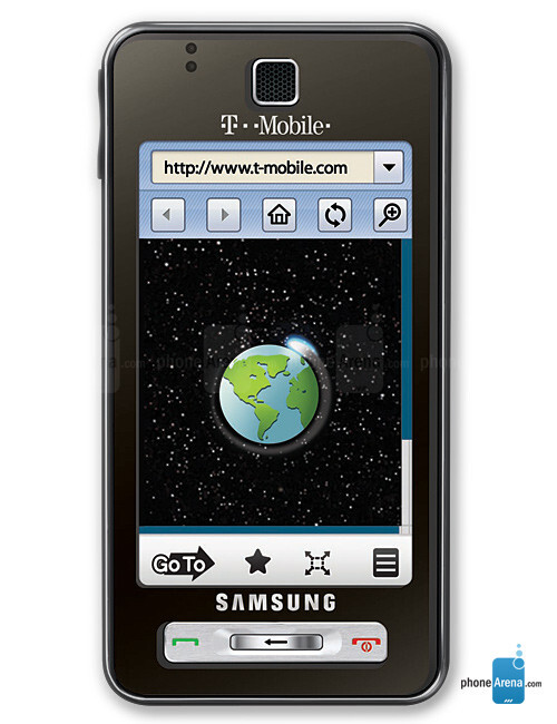 Samsung Behold Specs