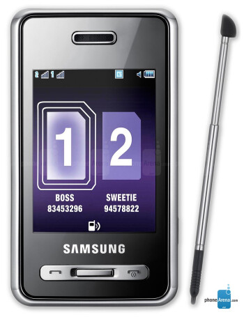 Samsung SGH-D980 DUOS