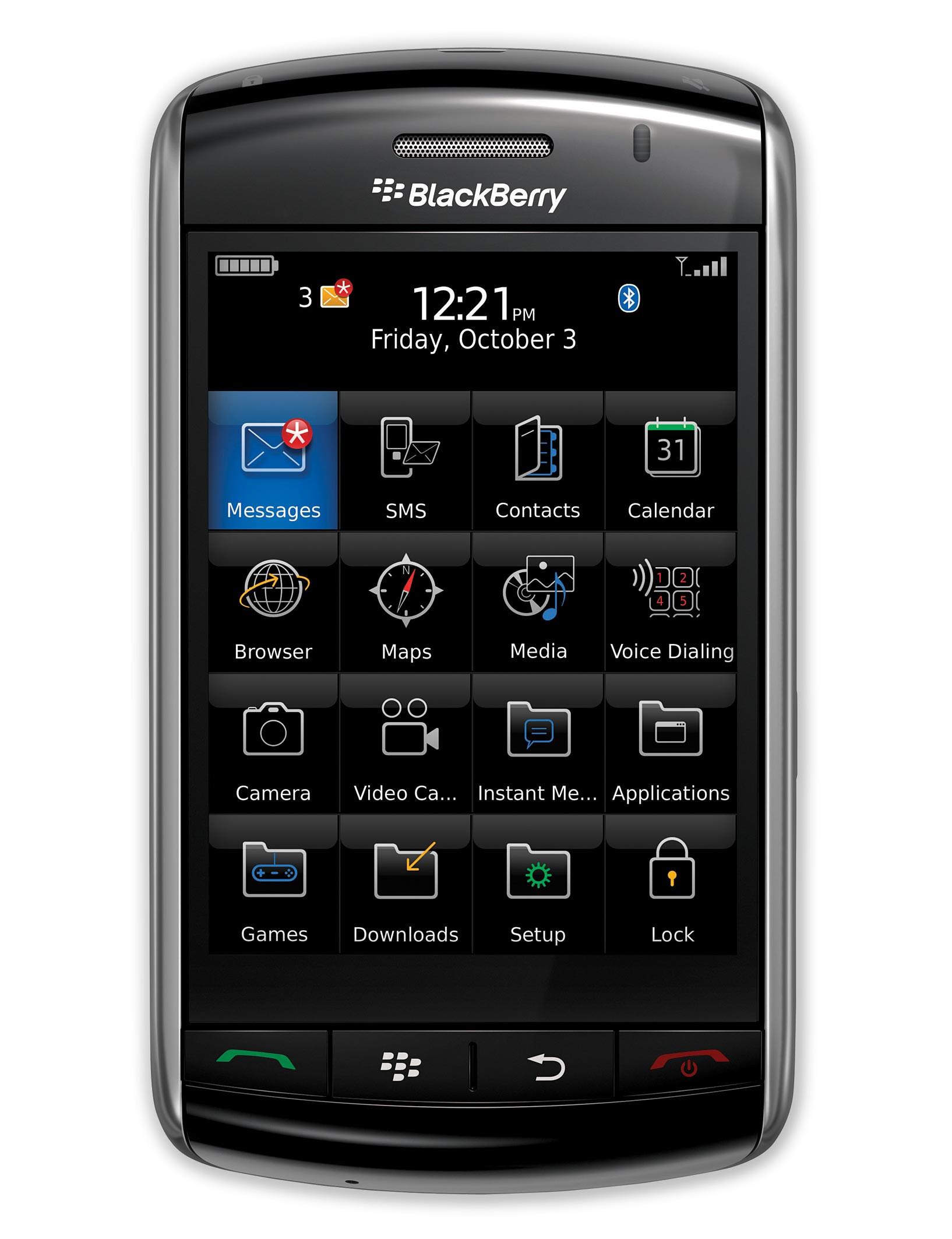 BlackBerry Storm Specs Features (Phone Scoop)