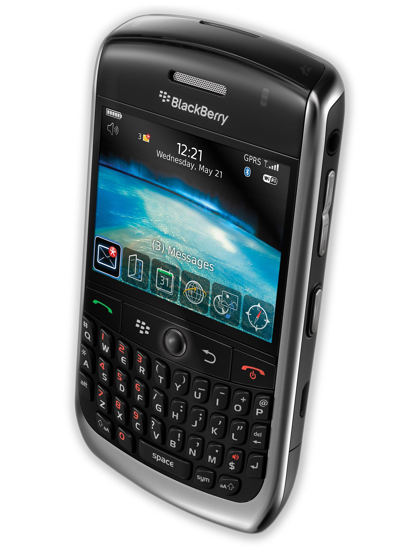 BlackBerry Curve 8900 specs