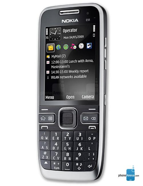 Nokia E55 specs
