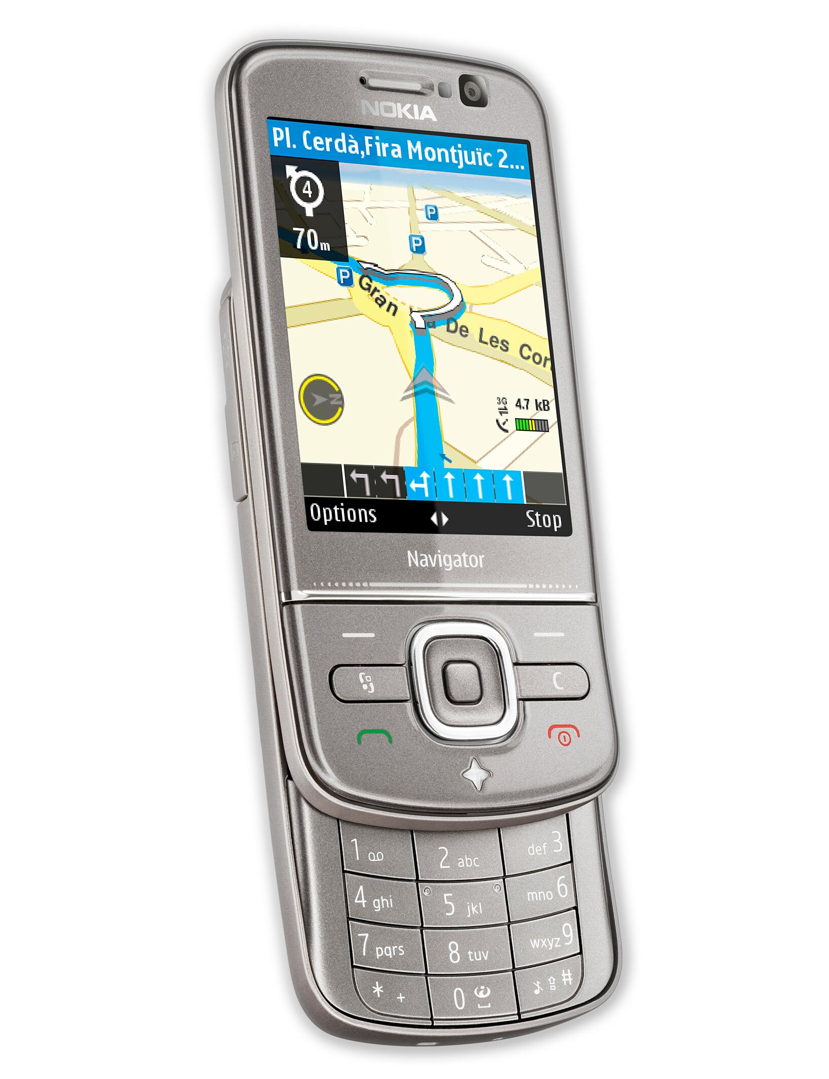 Nokia 6710 Navigator in the Test