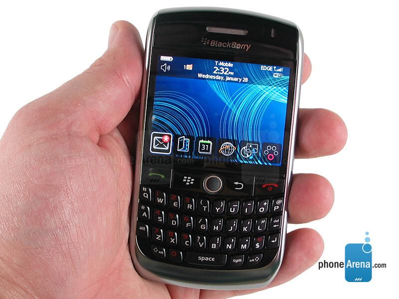 Blackberry 8900 smartphone manual