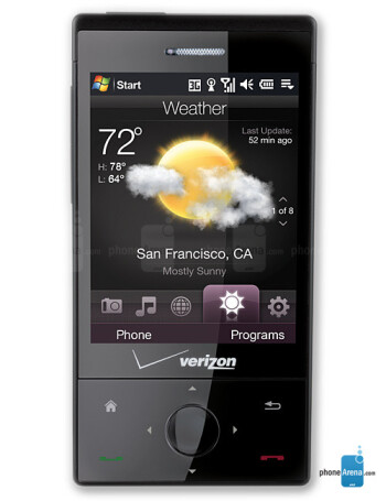 htc touch diamond cdma verizon size real life visualization and rh phonearena com HTC Touch Sprint Maroon Sprint HTC Touch microSD Slit