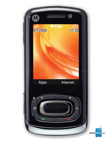 Motorola MOTO W7 Active Edition