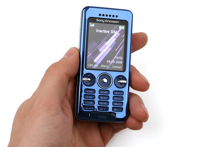 Sony Ericsson S302 Photos