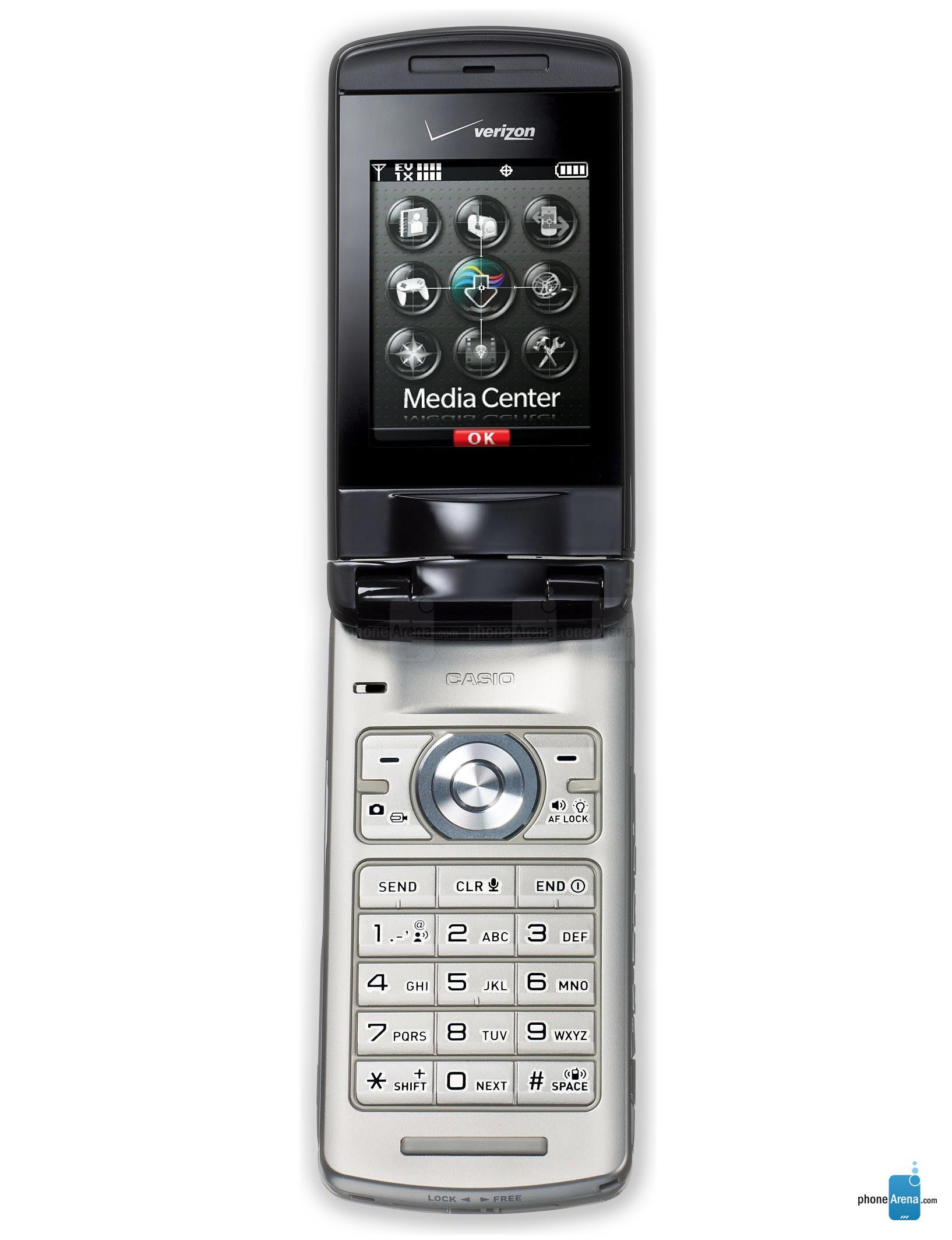 Verizon Wireless Casio Exilim specs