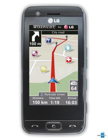 LG GT505 specs