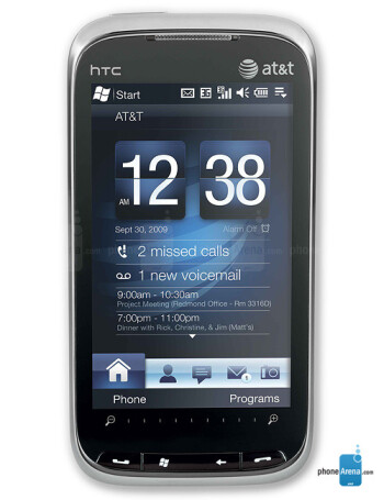 htc tilt 2 specs rh phonearena com Straight Talk HTC Phones Are Compatible Side On with AT&T HTC Charger