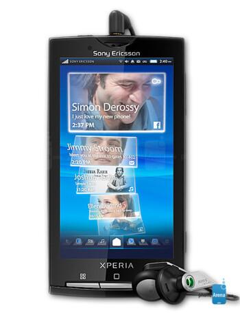 Sony Ericsson Xperia X10a