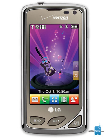 lg chocolate touch vx8575 manual user guide rh phonearena com LG Chocolate Touch VX8575 Cases LG enV Touch Cases
