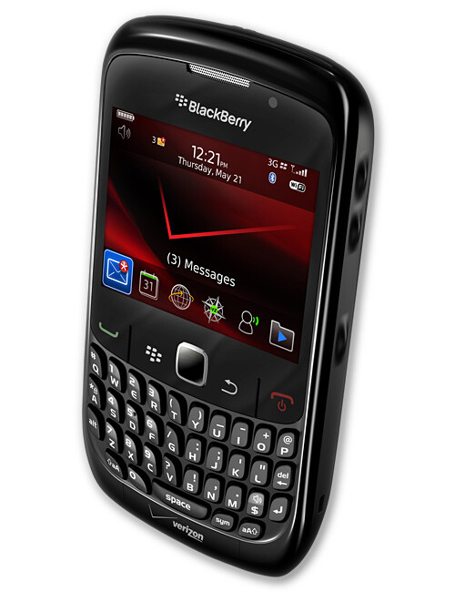 BlackBerry Curve 8910-Simple Business Phone From RI
