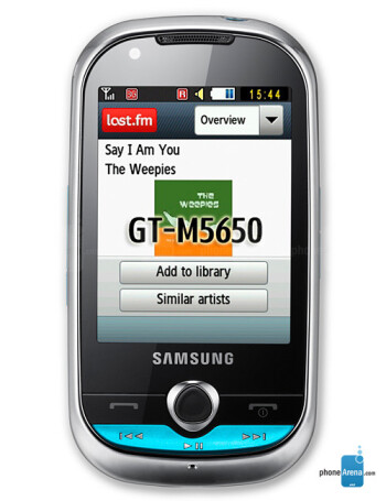 Samsung Lindy M5650 specs