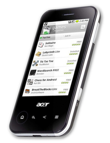 Acer beTouch E400 American version
