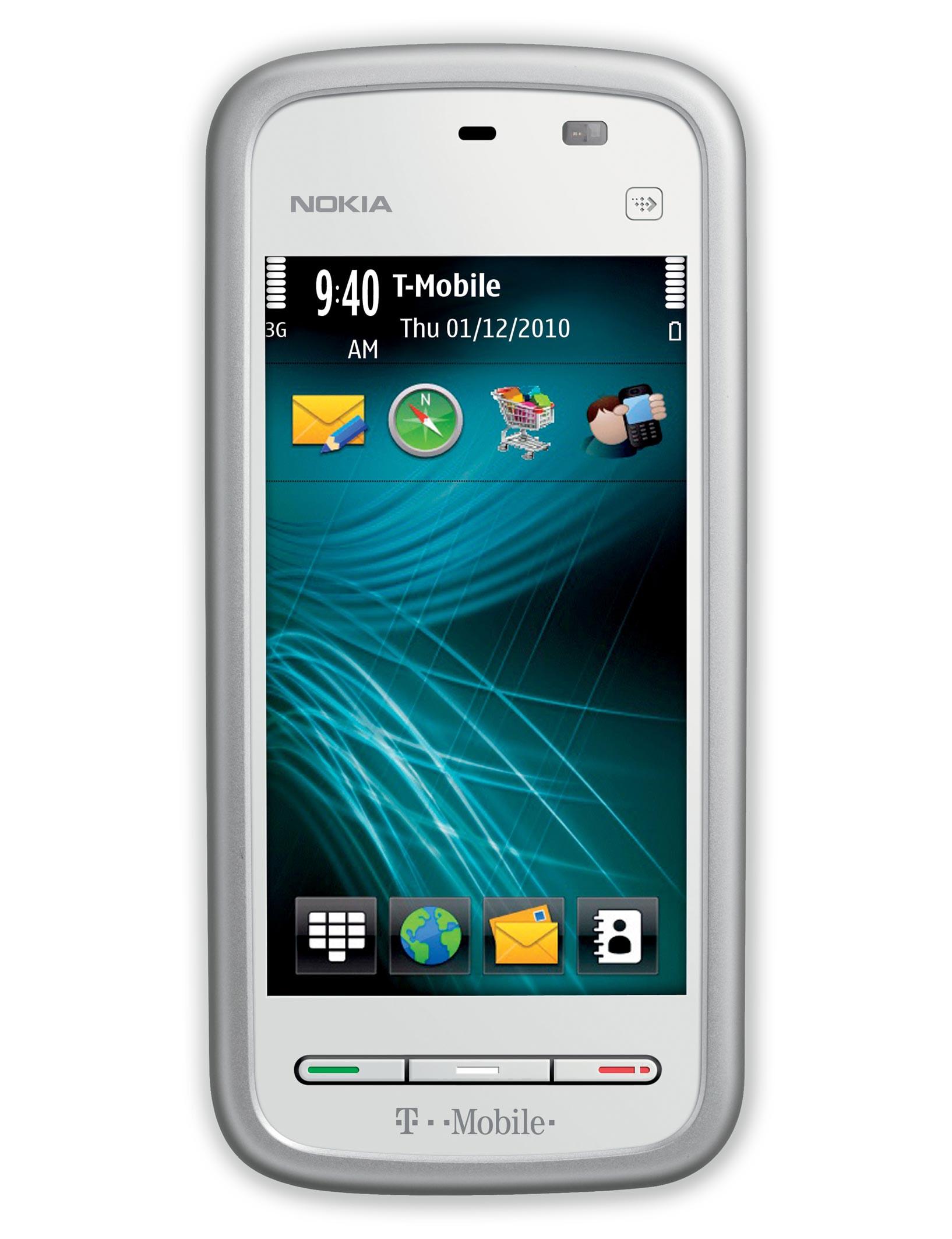 Nokia 5230 Nuron specs