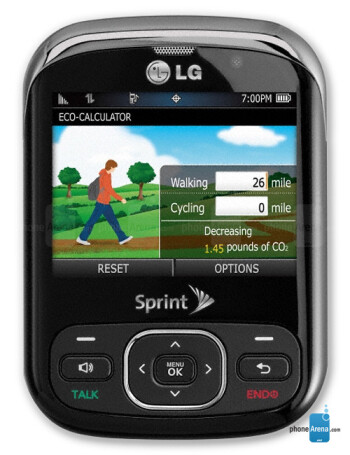 lg remarq full specs rh phonearena com Sprint LG Rumor LG Optimus Sprint