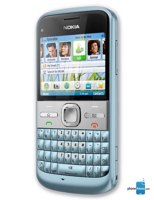 Nokia E5 specs