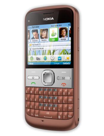 Nokia E5 American version