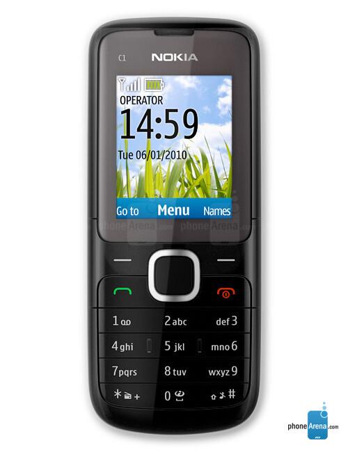 Nokia C1-01 specs