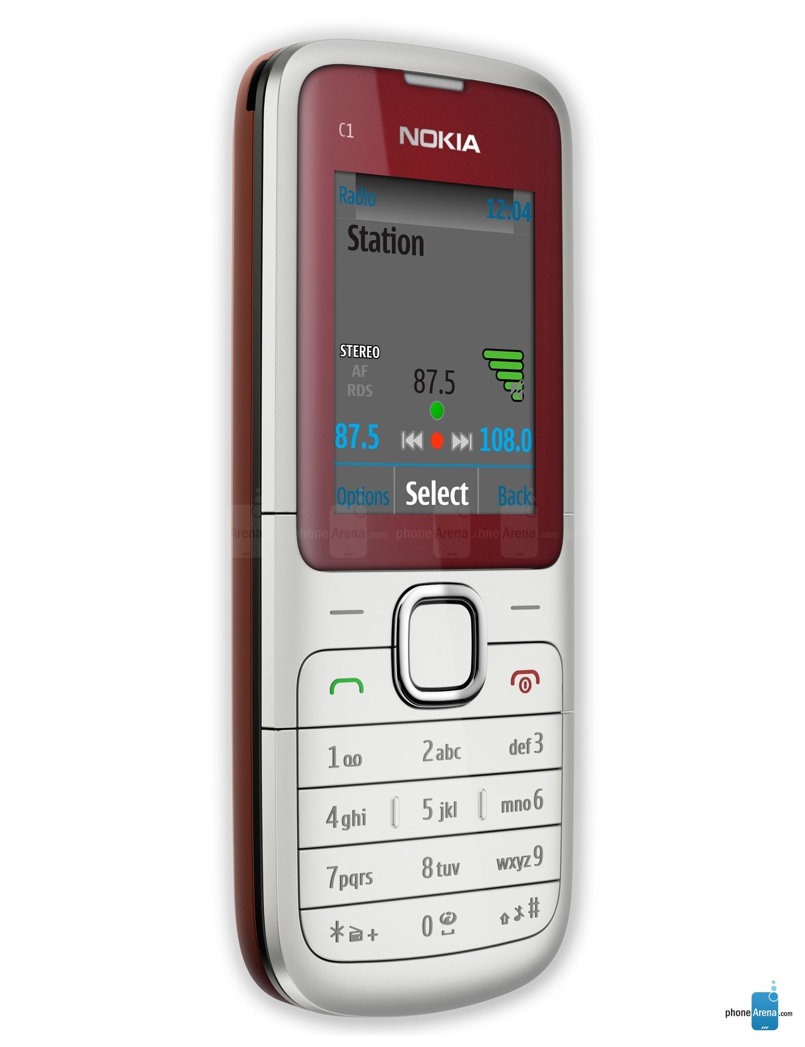 Nokia C1-01 full specs