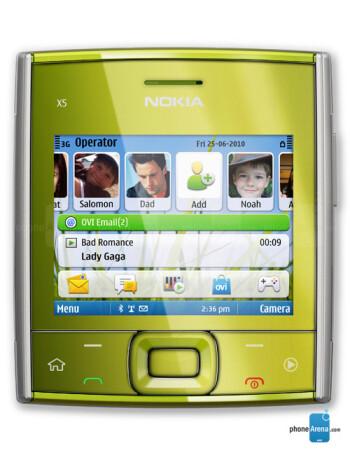 Nokia X5-01 American version