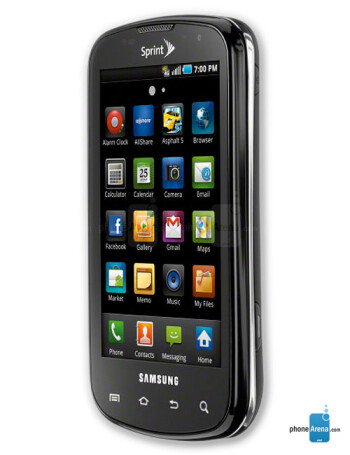 samsung epic 4g specs rh phonearena com HTC EVO 4G Android 4G