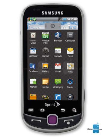 Samsung Intercept specs