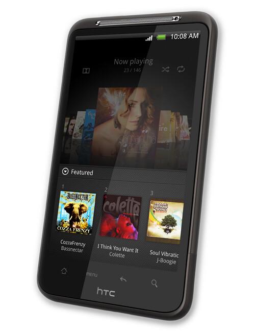 HTC Desire HD specs